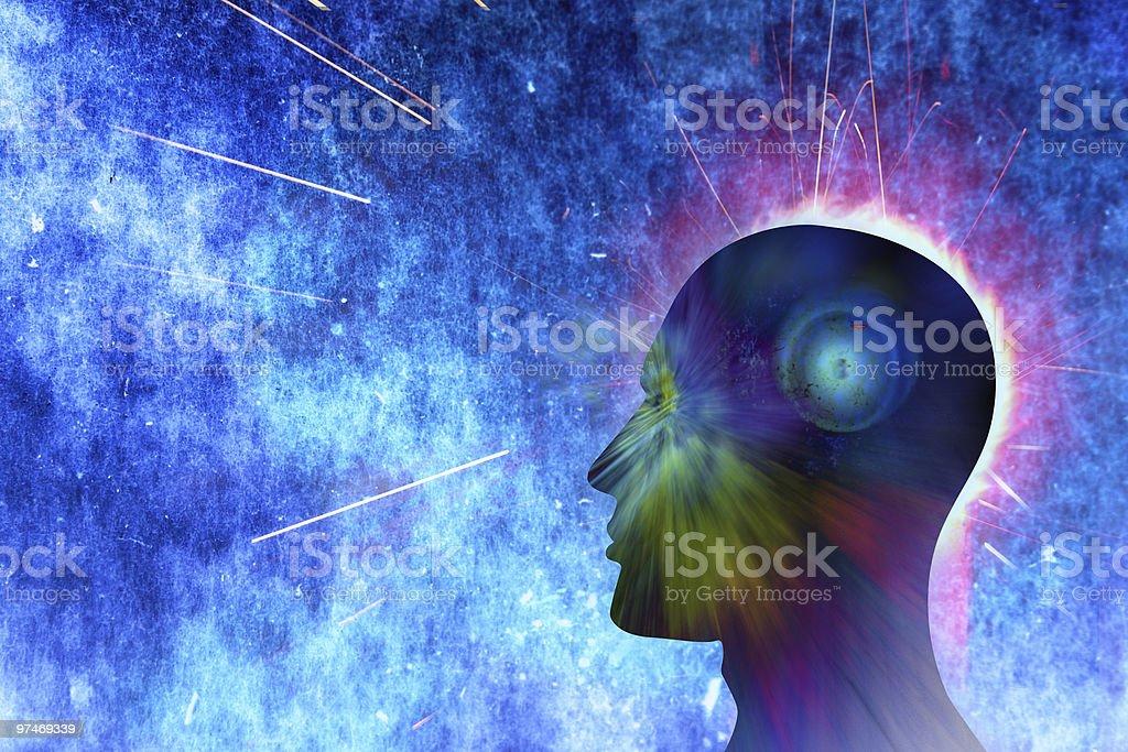 human visions royalty-free stock photo