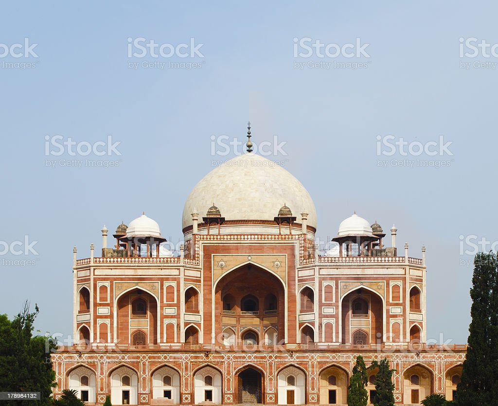 humanyun tomb new dehli India royalty-free stock photo