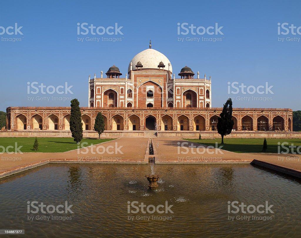 Humayun Tomb, Delhi royalty-free stock photo