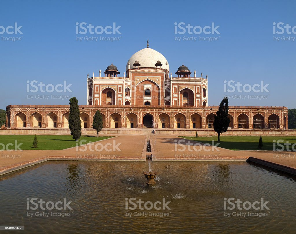 Humayun Tomb, Delhi stock photo