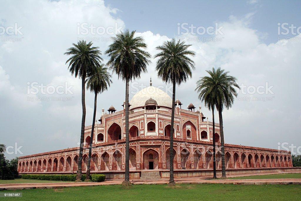 Humayun Tomb - Delhi royalty-free stock photo
