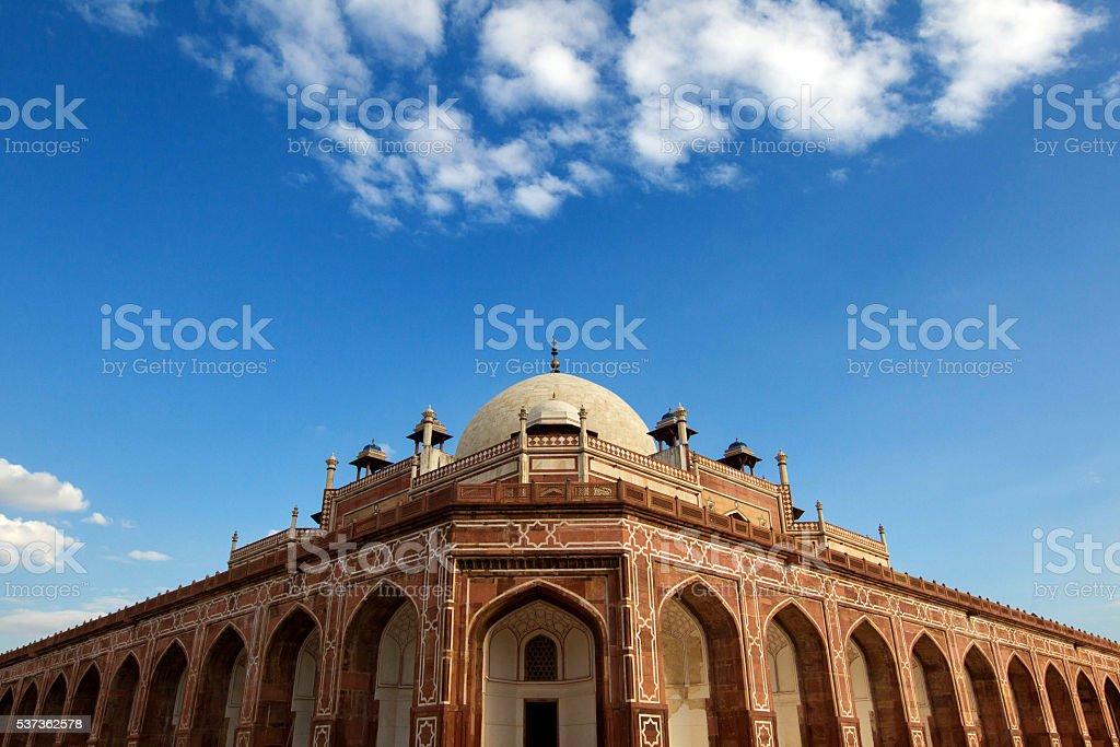 Humayun Tomb, Delhi-India stock photo