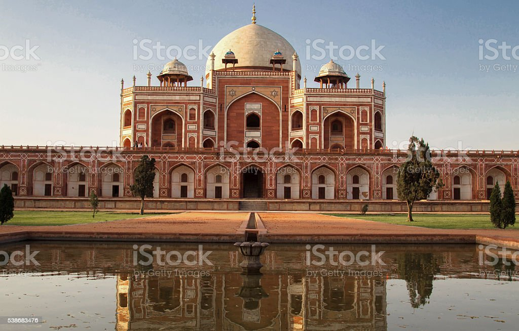 Humayun Tomb, Delhi-India stock photo