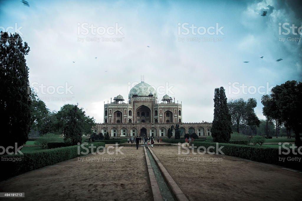 Humayun Tomb. India stock photo