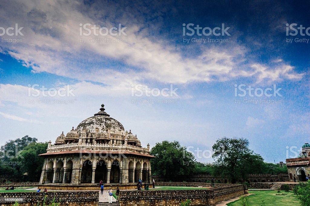 Humayun Tomb stock photo