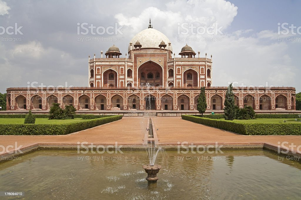 Humayun's Tomb, Dehli, India royalty-free stock photo