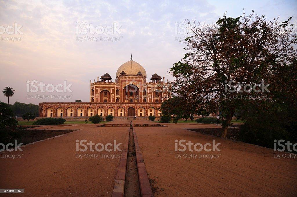 Humayun's Tomb, Dehli, India royalty-free stock photo