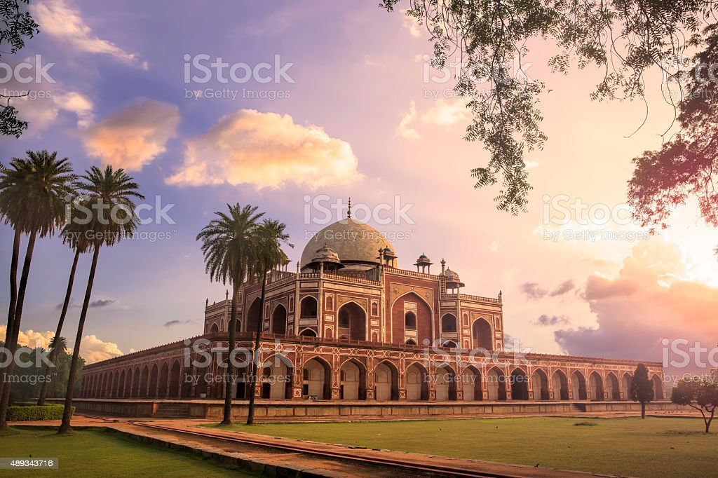 Humayun's Tomb, Delhi, India - CNGLTRV1109 stock photo