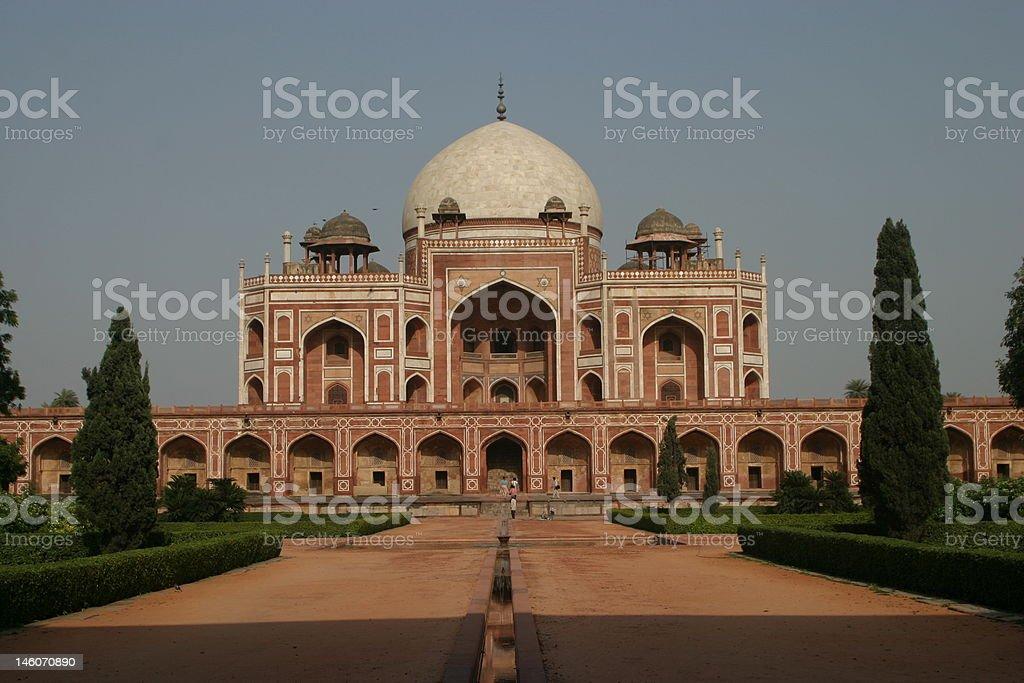 Humayun's Tomb - Delhi, India royalty-free stock photo