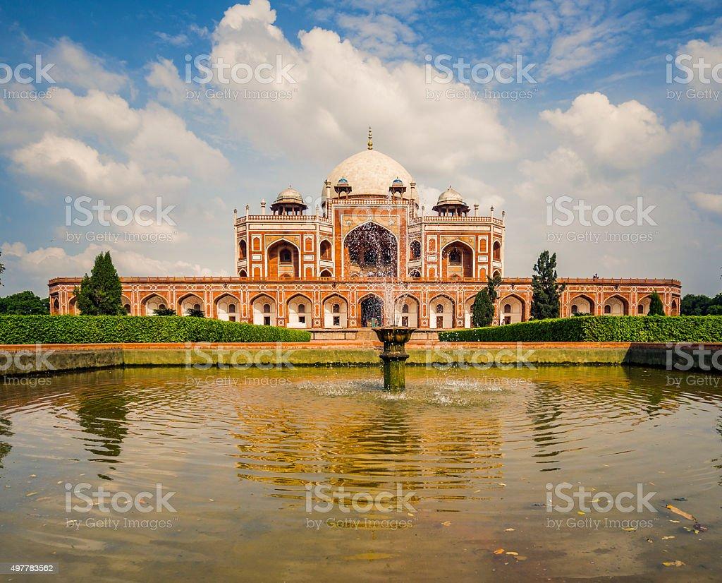 Humayun's tomb Delhi India stock photo