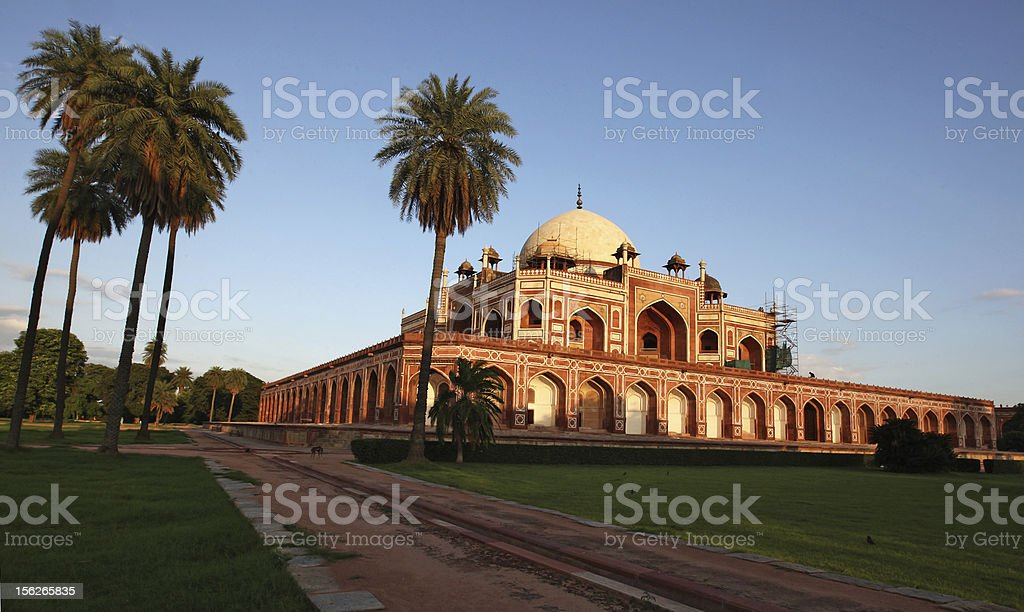 Humayun's Tomb, Delhi. stock photo