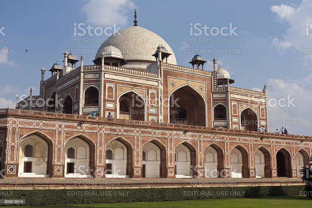 Humayun's Tomb In Delhi, India royalty-free stock photo