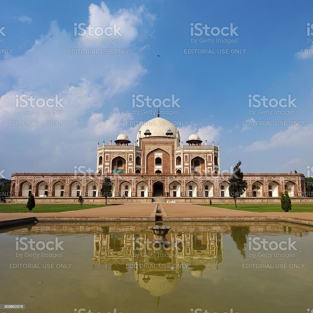 Humayun's Tomb In New Delhi, India royalty-free stock photo