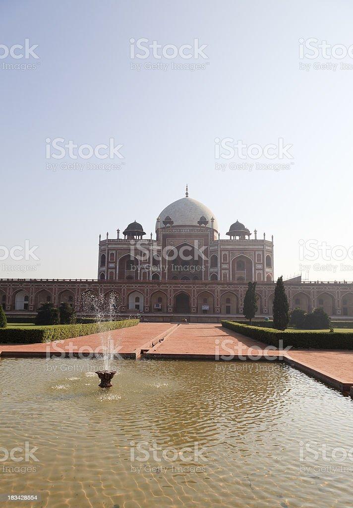 Humayuns Tomb New Delhi India stock photo