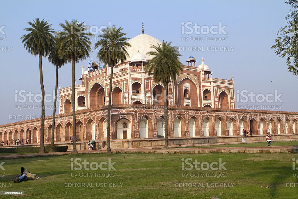 Humayun's Tomb, New Delhi, India royalty-free stock photo