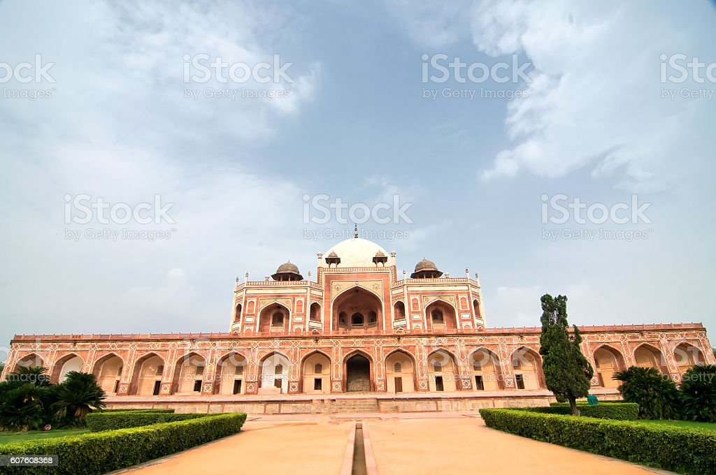 Humayun's Tomb, New Delhi, India stock photo