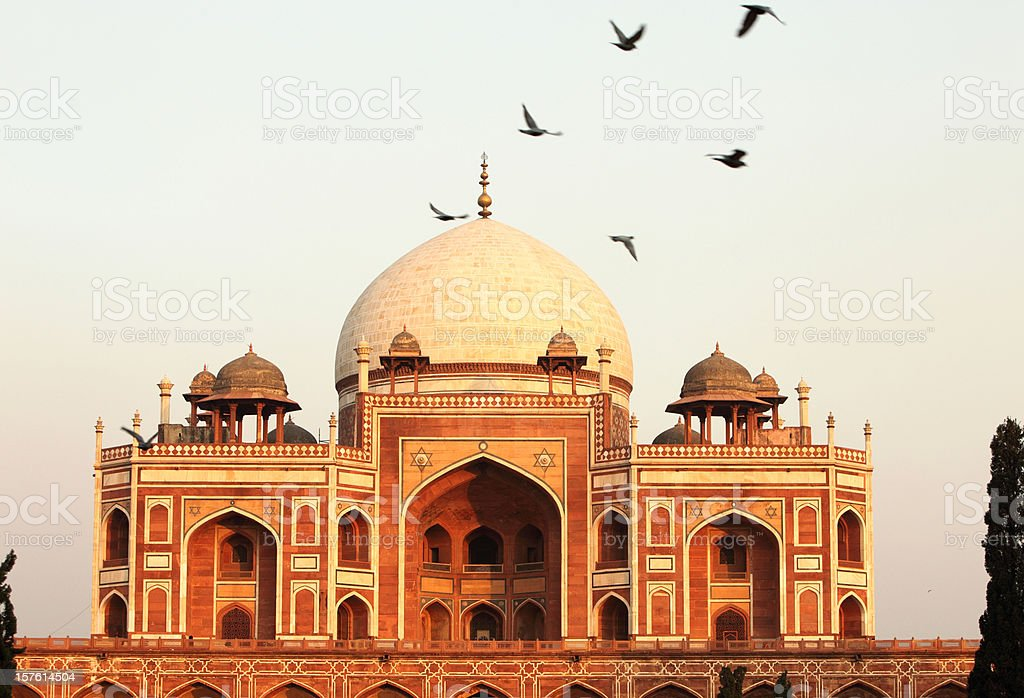 Humayun's Tomb stock photo