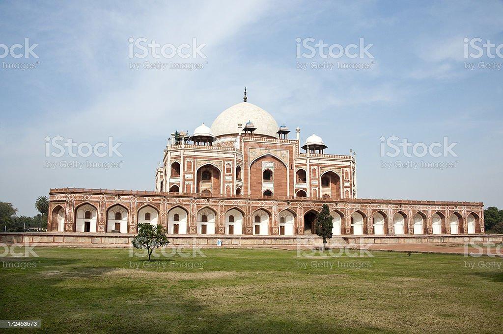 Humayun's Tomb royalty-free stock photo