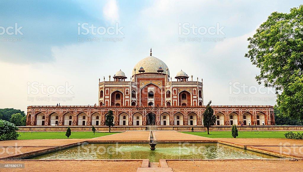 Humayuns Tomb, popular destination in Delhi stock photo