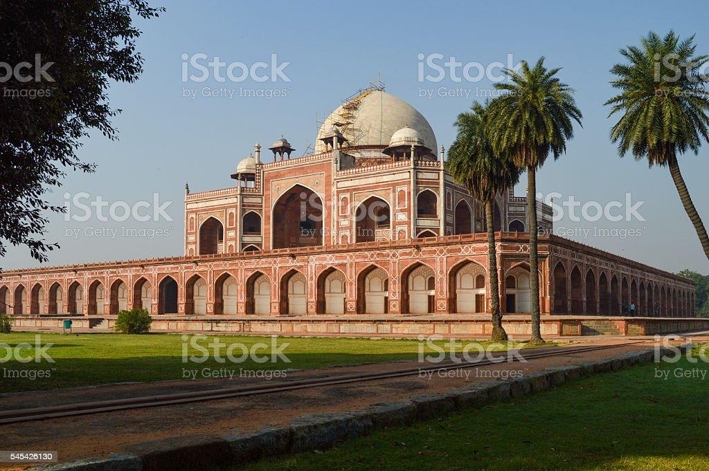 Humayun'sTomb in New Delhi stock photo