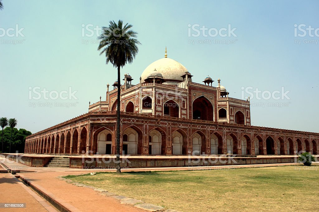 Humayuntomb stock photo