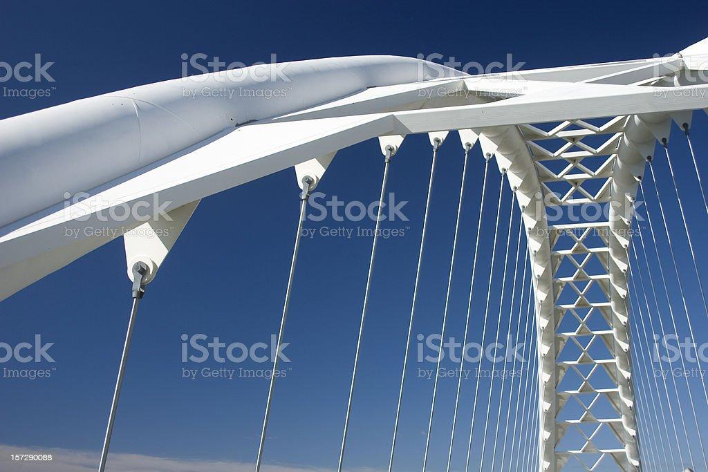 Humber Bridge Arch stock photo