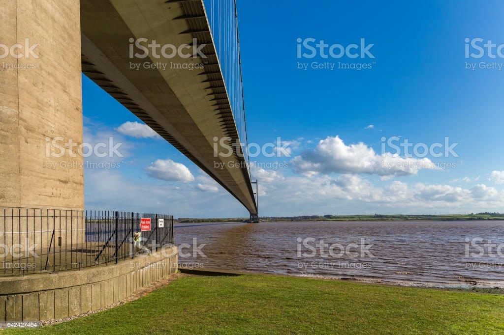Humber Bridge, East Riding of Yorkshire, UK stock photo