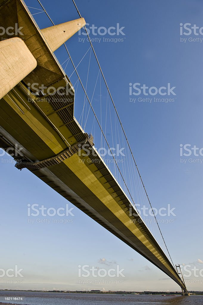 Humber Bridge royalty-free stock photo