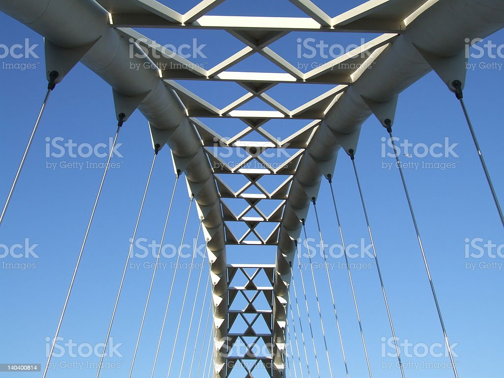 Humber river bridge royalty-free stock photo