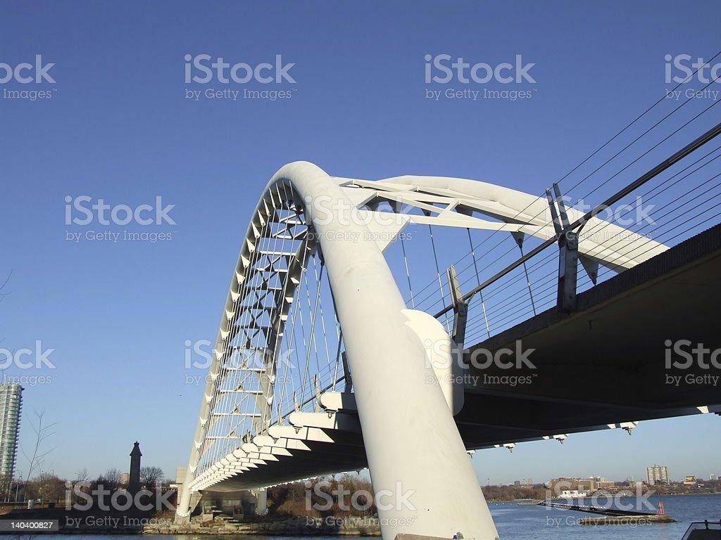Humber river bridge royalty-free stock photo