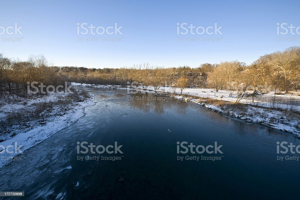 Humber River royalty-free stock photo