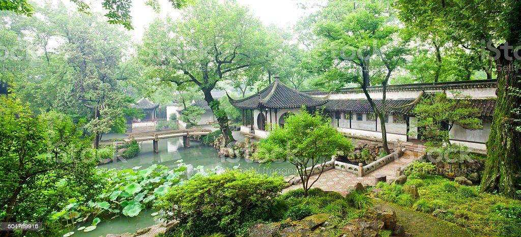 Humble Administrator's Garden, Suzhou, Jiangsu province, China stock photo