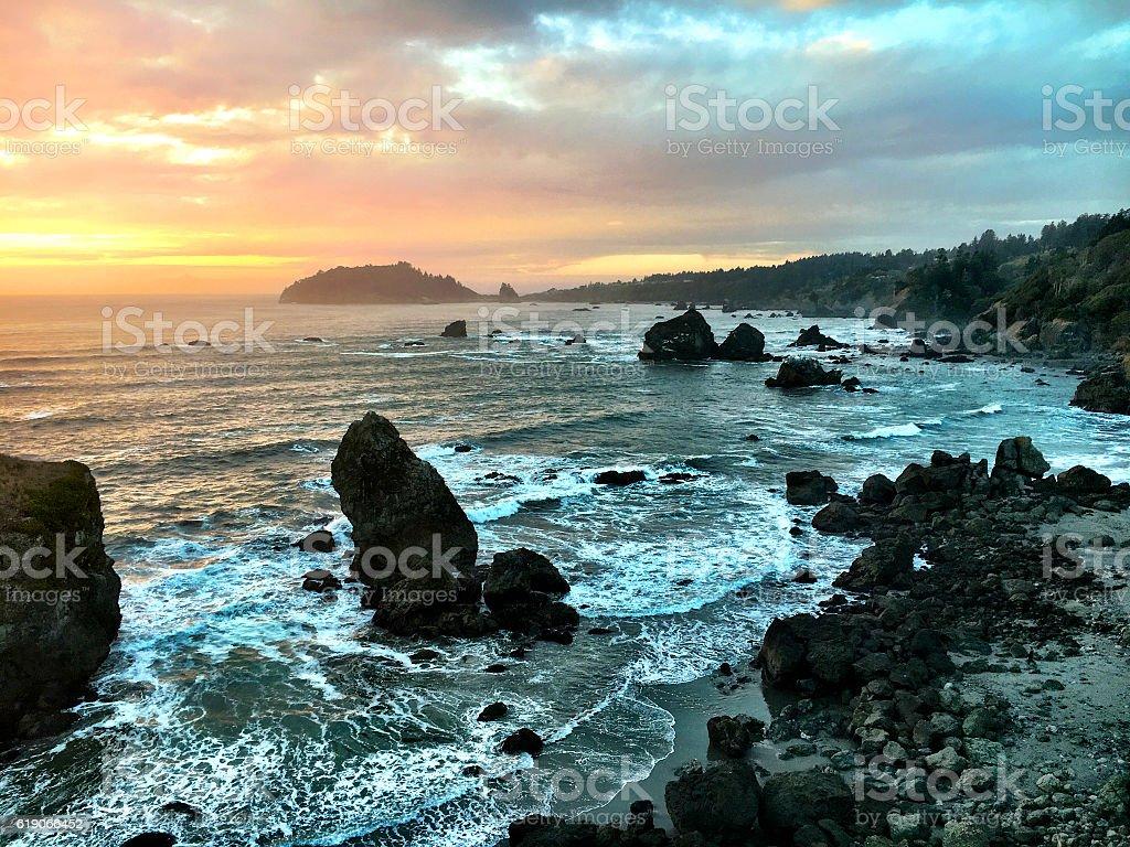 Humboldt Coast stock photo