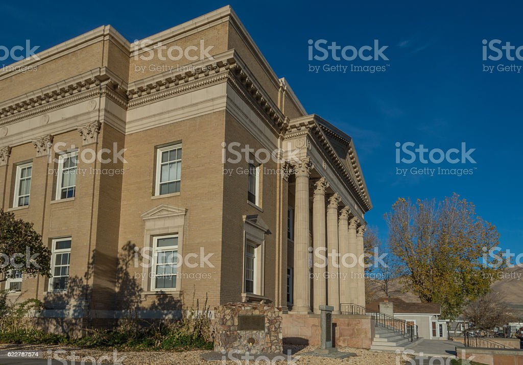 Humboldt County Courthouse in Winnemucca, Nevada stock photo