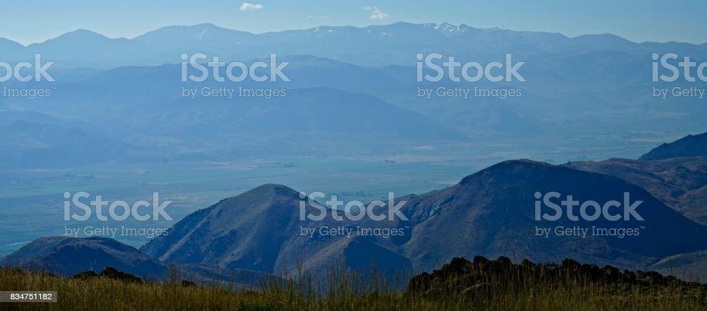 Humboldt Haze stock photo