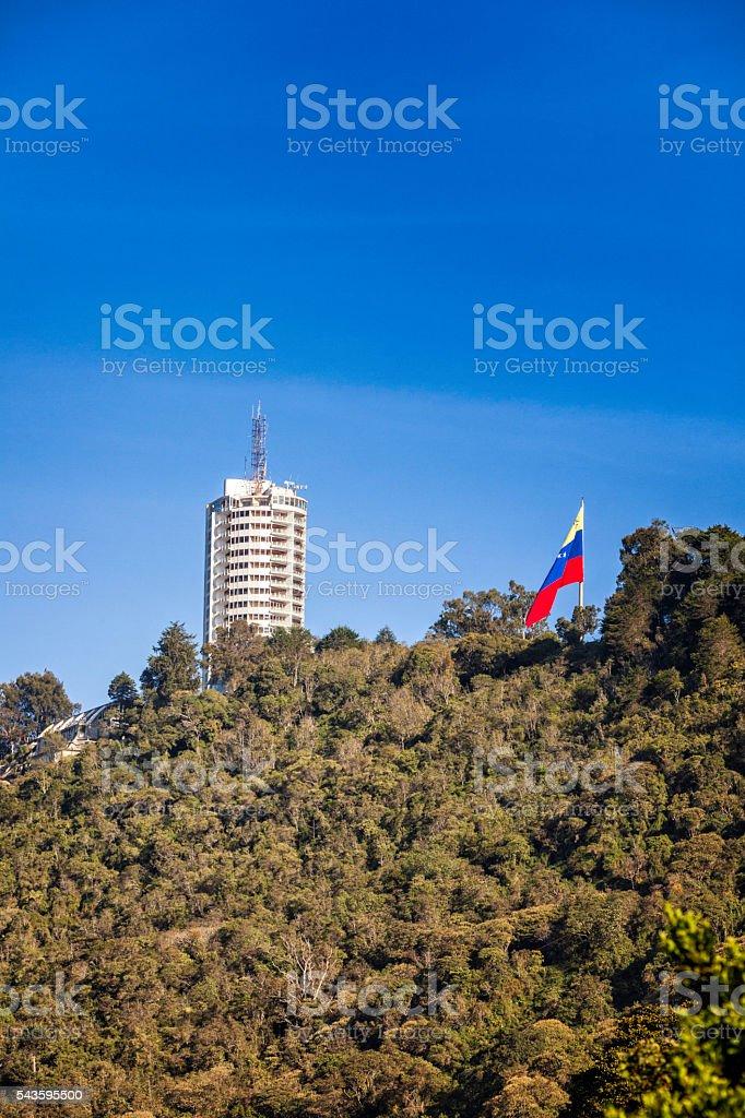 Humboldt Hotel on top of El Avila. Caracas, Venezuela stock photo