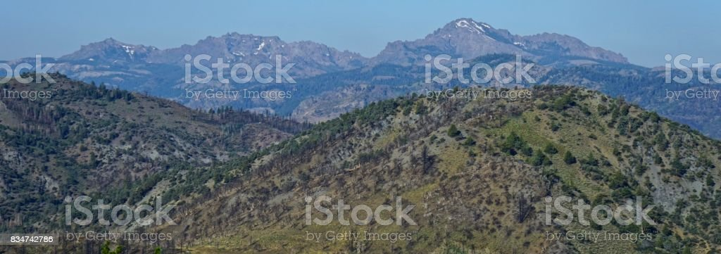Humboldt-Toiyabe National Forest High Country stock photo