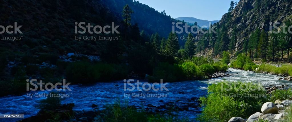 Humboldt-Toiyabe National Forest River stock photo