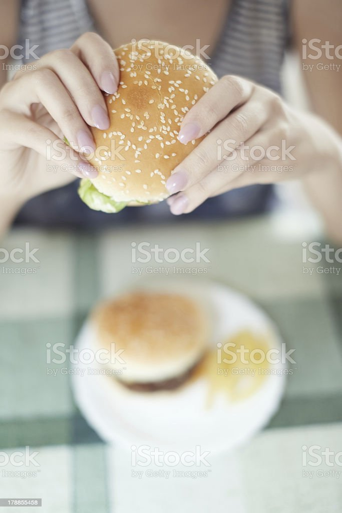 Humburgers royalty-free stock photo