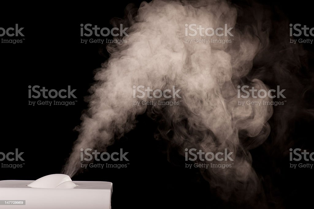 humidifier's head stock photo