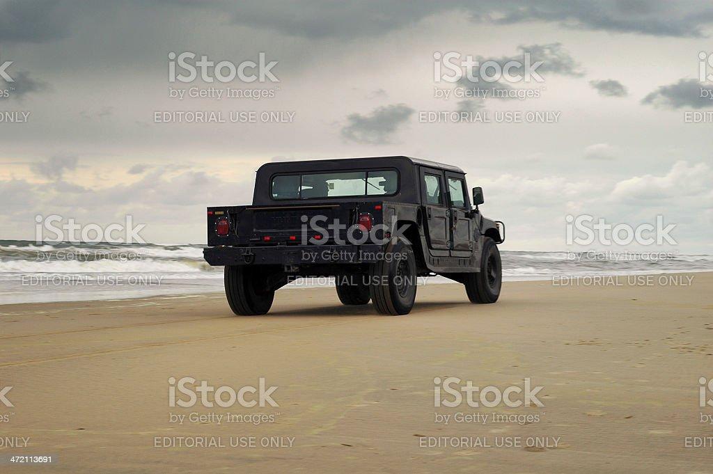 Hummer H1 stock photo