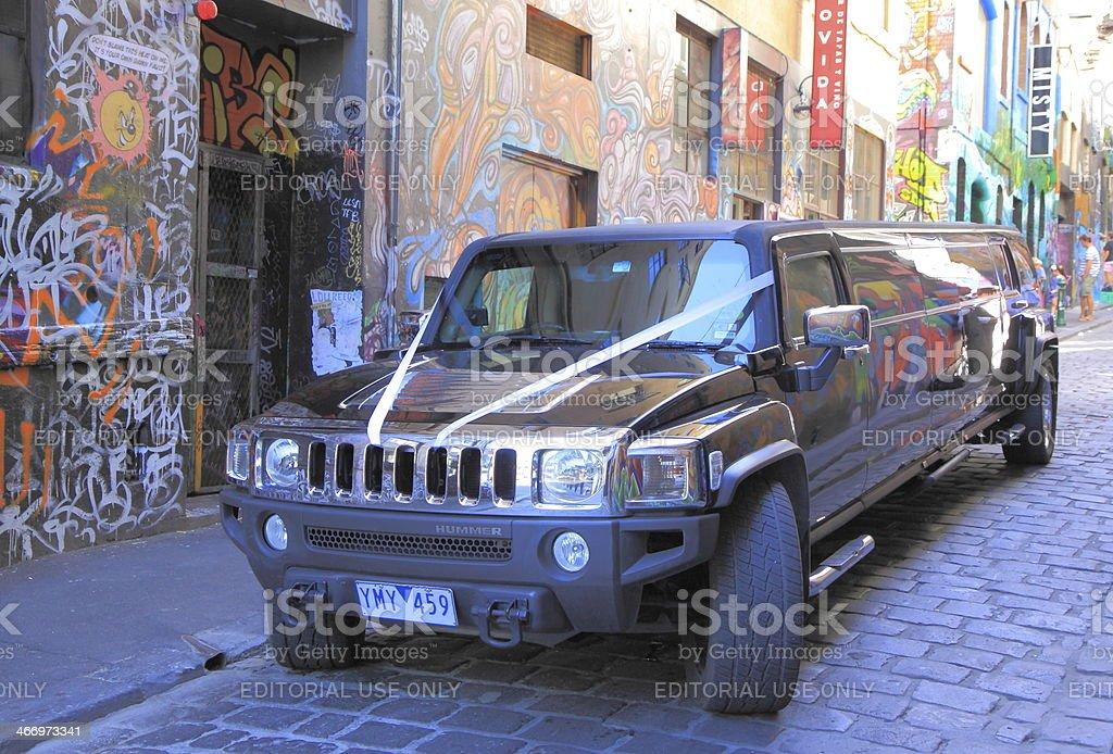 Hummer stock photo