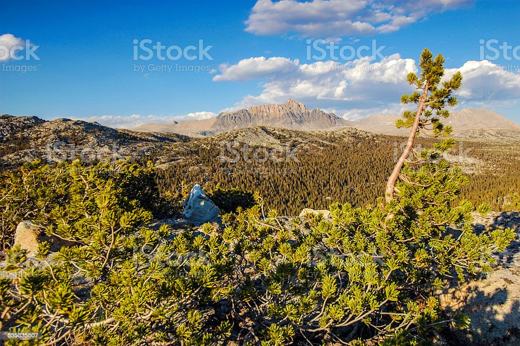 Humphreys Basin Overlook stock photo