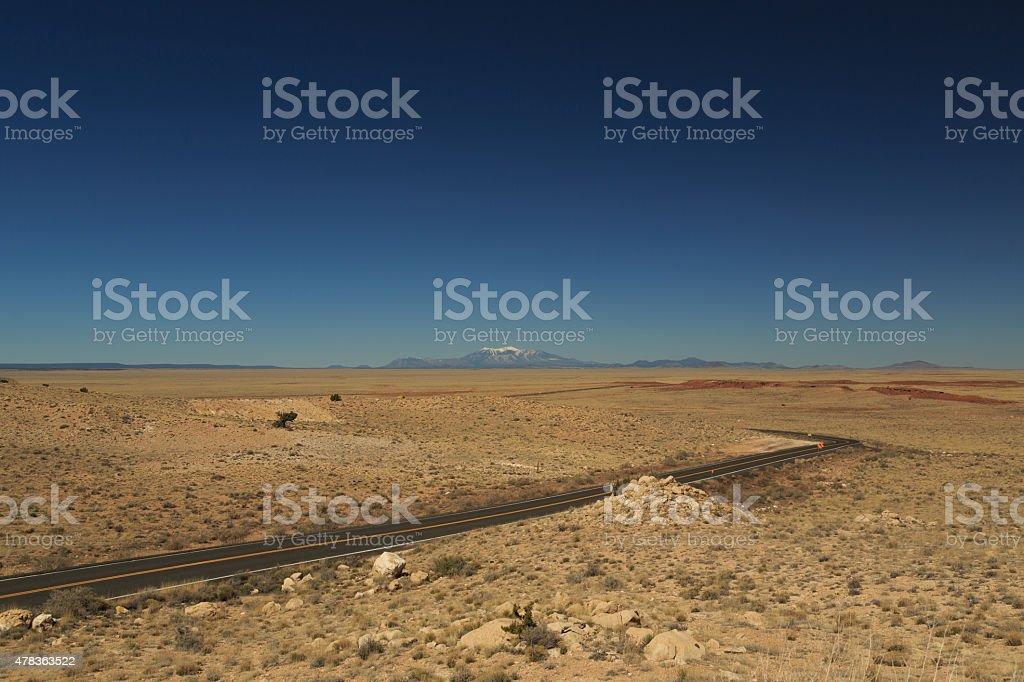Humphrey's Peak stock photo