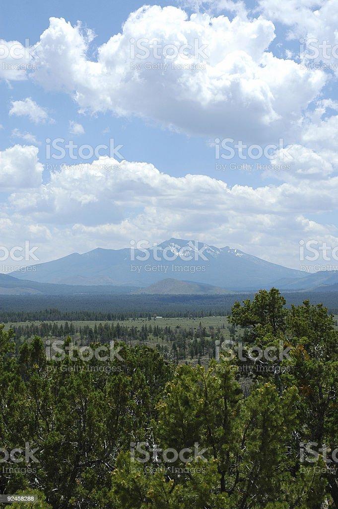 Humphrey's Peak royalty-free stock photo