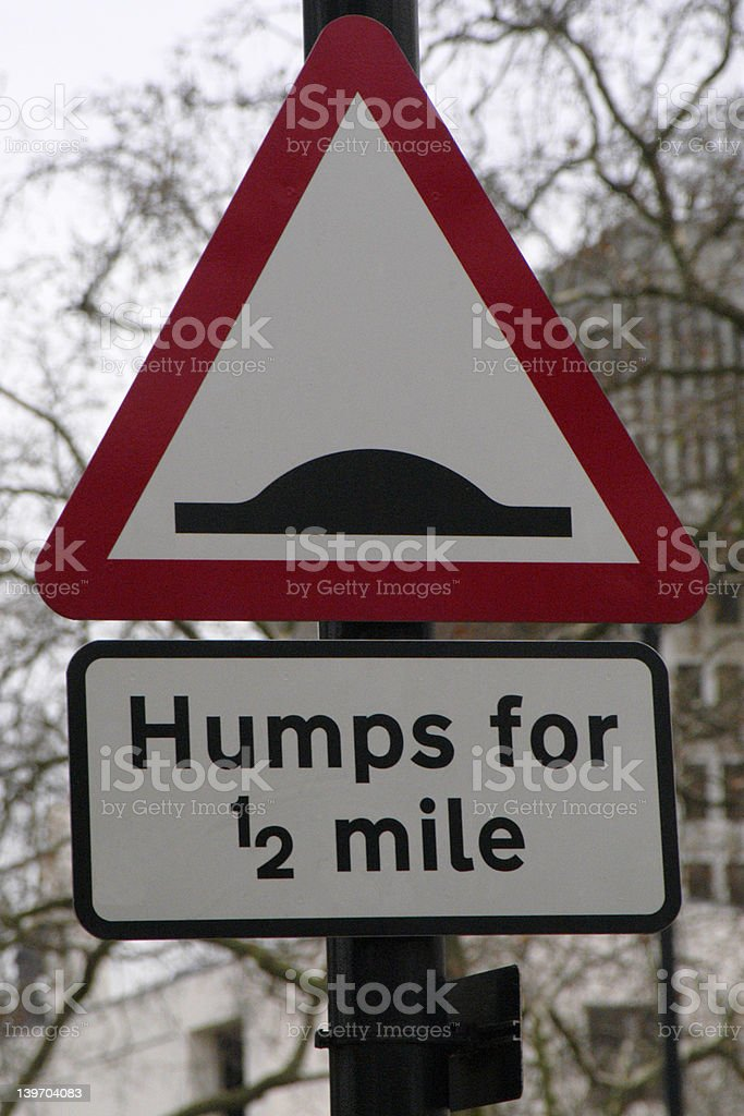 Humps royalty-free stock photo