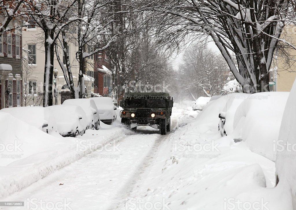 Humvee 2 stock photo
