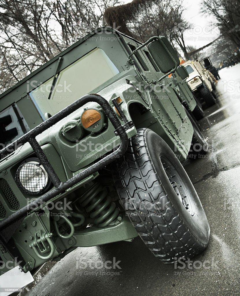 Humvee stock photo
