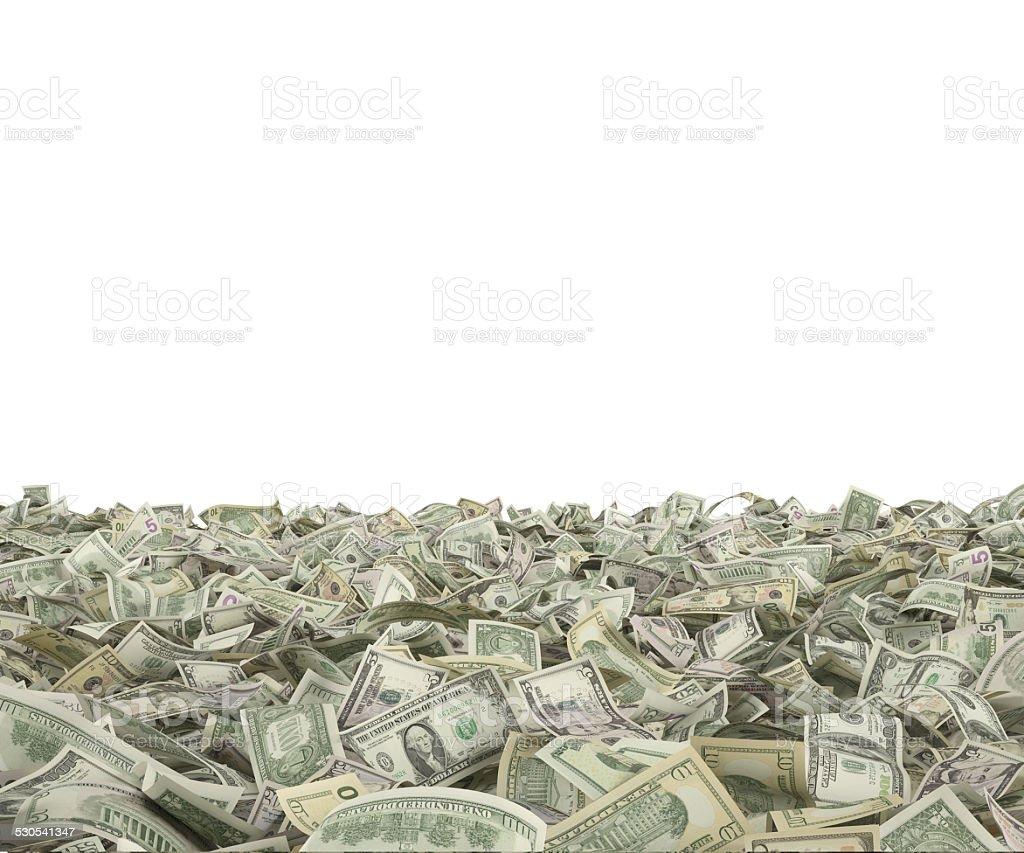 hundred dollar bills stock photo