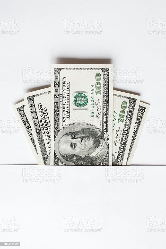 hundred dollars stock photo